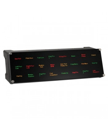 Pro Flight Backlit Information Panel System - SCB432040002/04/1