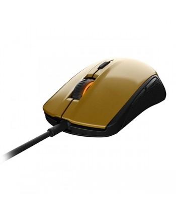 SteelSeries Rival 100 preto dourado - 62336