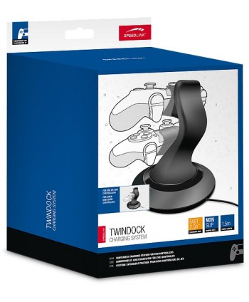 TWINDOCK Charging System - for PS4, black - SL-4511-BK