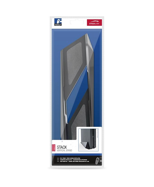 STACK Vertical Stand - for PS4, black
