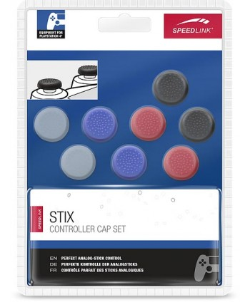 STIX Controller Cap Set - for PS4, multicolor