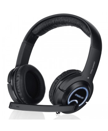 XANTHOS Stereo Console Gaming Headset - for PS3/PS4/Xbox 360 - SL-4475-BK
