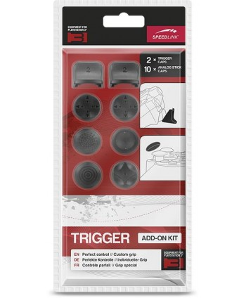TRIGGER Controller Add-On Kit - for PS3, black
