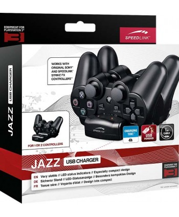 JAZZ USB Charger - for PS3, black
