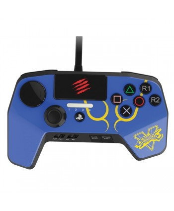 PS4 SFV FightPad PRO A4 Blue ChunLi