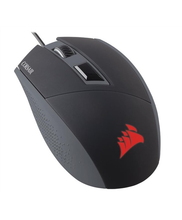 Rato Corsair  Katar, Black, Optical, 8000DPI