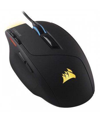 Rato Corsair Sabre RGB, Black, Optical, 10000DPI