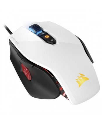 Rato Corsair M65 Pro RGB, White, Optical, 12000DPI