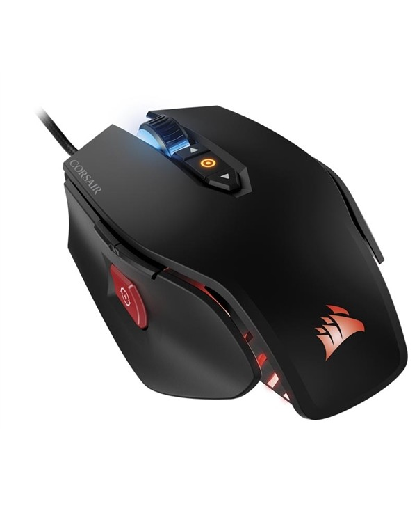 Rato Corsair M65 Pro RGB, Black, Optical, 12000DPI