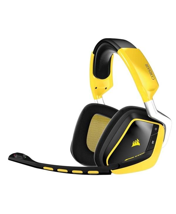 Ausc Corsair Void Wireless SE RGB 7.1 Dolby-yellow