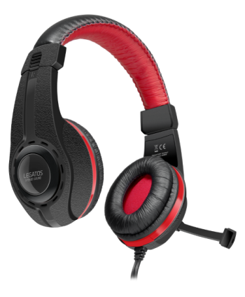 LEGATOS Stereo Gaming Headset, black - SL-860000-BK