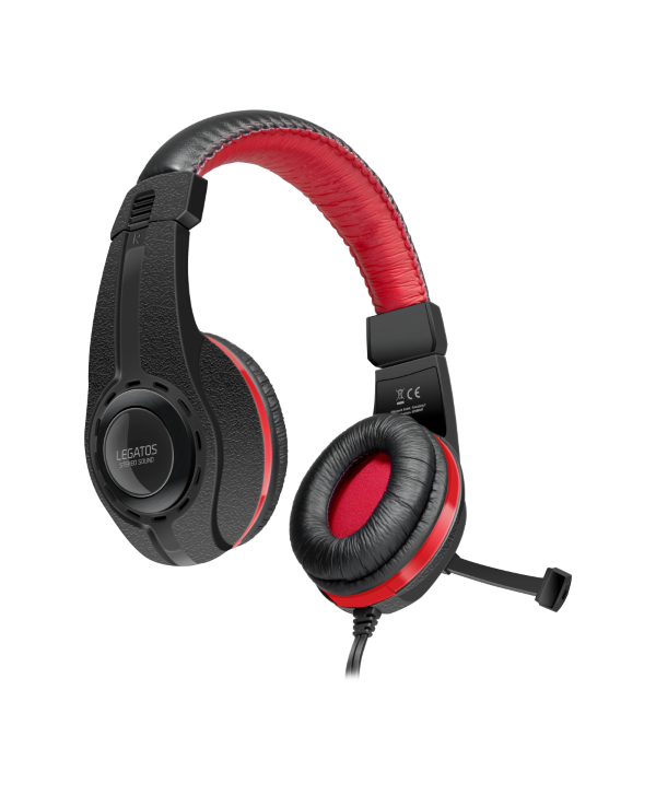 LEGATOS Stereo Gaming Headset, black