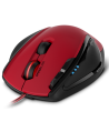 SCELUS Gaming Mouse, black-red