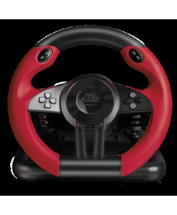 TRAILBLAZER Racing Wheel for PS4/Xbox One/PS3, Black - SL-450500-BK