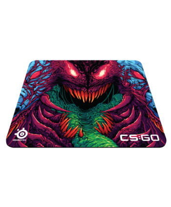 Tapete SteelSeries QcK+ CS:GO Hyper Beast Edition