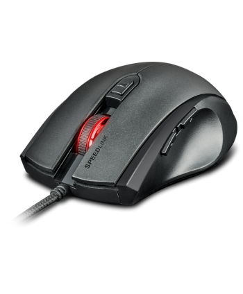 ASSERO Gaming Mouse, black-
