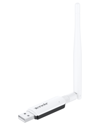 Adaptador USB Wireless N300 alto ganho e antena removível