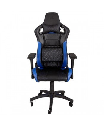 Cadeira gaming Corsair T1 RACE  Preto/Azul