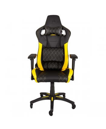 Cadeira gaming Corsair T1 RACE  Preto/Amarelo - CF-9010005-WW