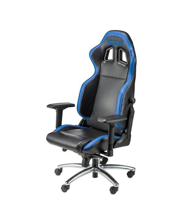 Cadeira gaming Sparco Respawn SG-1 preto/azul