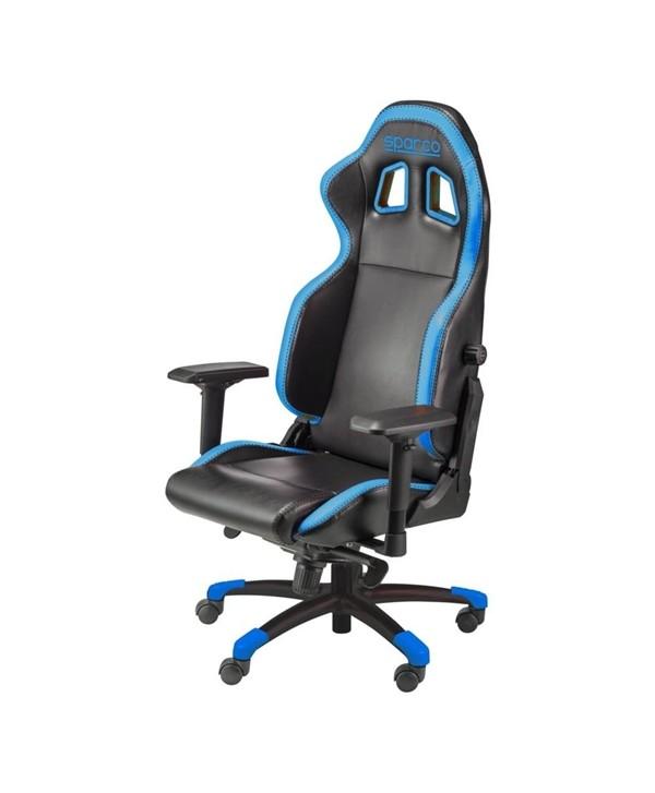 Cadeira gaming Sparco GRIP preto/azul