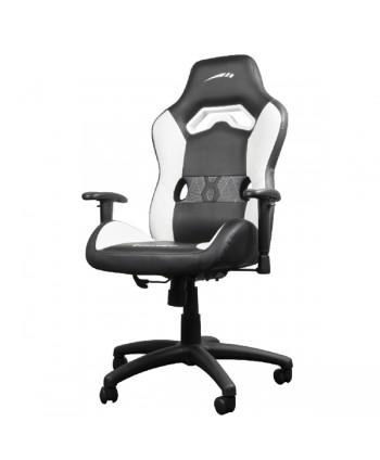 LOOTER cadeira gaming preta/branca