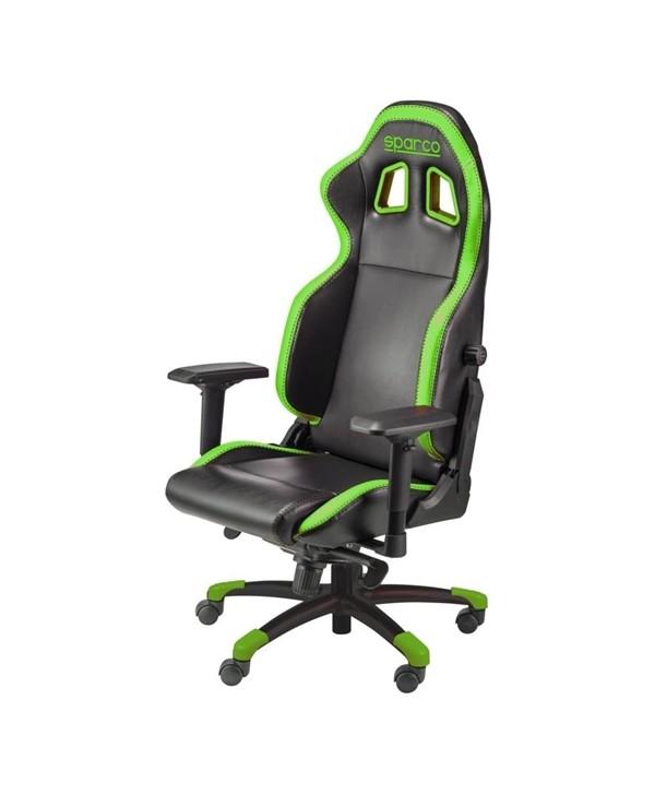 Cadeira gaming Sparco GRIP preto/verde