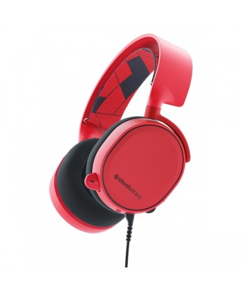 Ausc SteelSeries Arctis 3 Solar Red