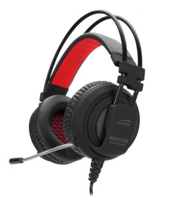 MAXTER Stereo Headset - for PS4, black - SL-450300-BK