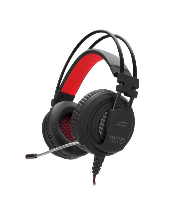 MAXTER Stereo Headset - for PS4, black