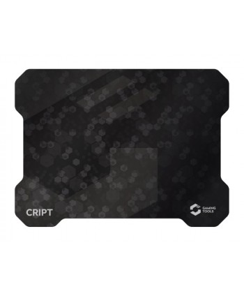 CRIPT Ultra Thin Gaming Mousepad, black - SL-620102-BK