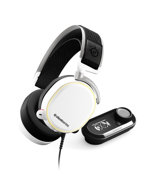 Ausc SteelSeries Arctis PRO+GameDAC Branco