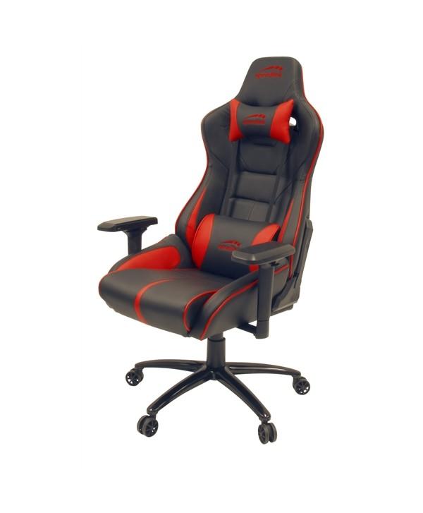 ARIAC cadeira gaming preto/vermelho