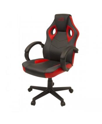YARU cadeira gaming preto/vermelho