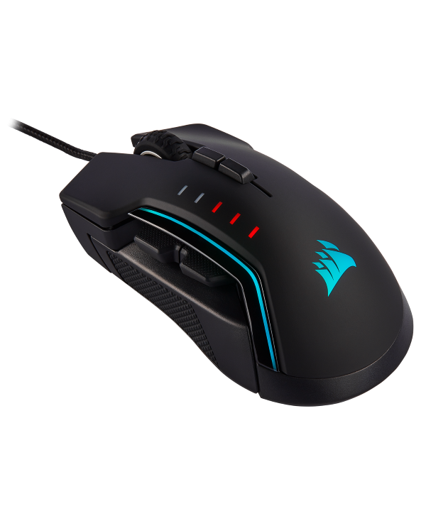Rato Corsair Glaive RGB Pro 18000 DPI preto