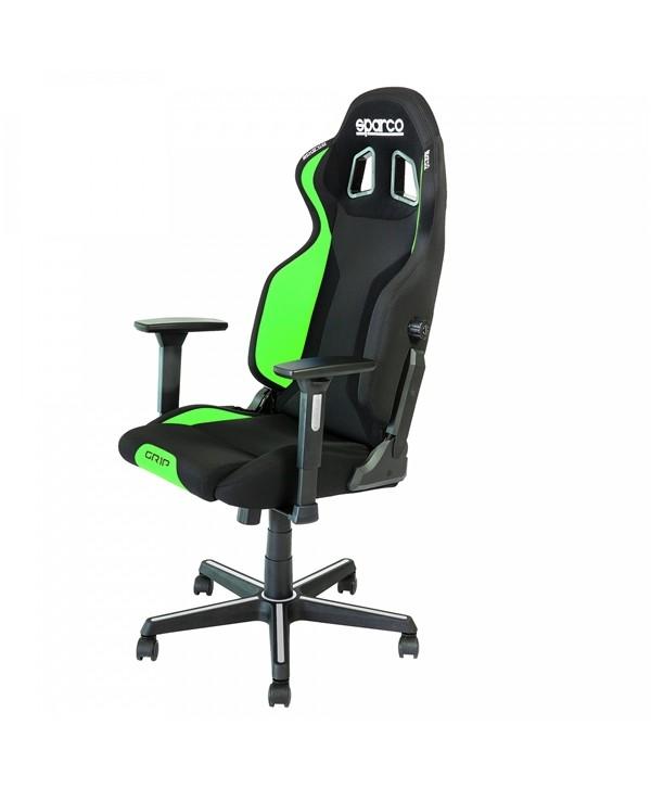 Cadeira gaming Sparco GRIP preto/verde 2019
