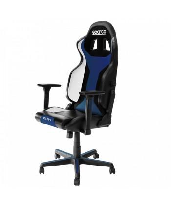 Cadeira gaming Sparco GRIP preto/azul 2019