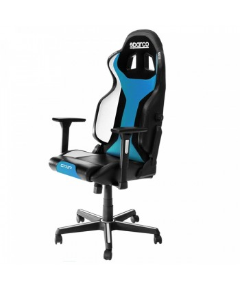Cadeira gaming Sparco GRIP Preto/LIGHT BLUE SKY 2019