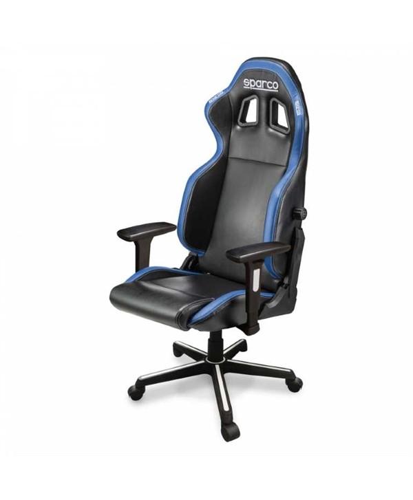 Cadeira gaming Sparco ICON preto/azul
