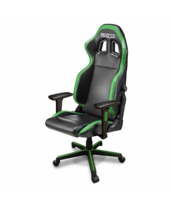 Cadeira gaming Sparco ICON preto/verde - SP00998NRVF