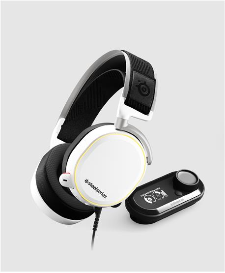 Ausc SteelSeries Arctis PRO+GameDAC Branco