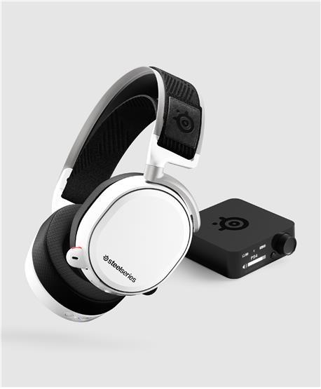 Ausc SteelSeries Arctis PRO Wireless Branco