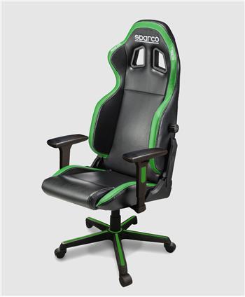 cadeira-gaming-sparco-icon-pretoverde